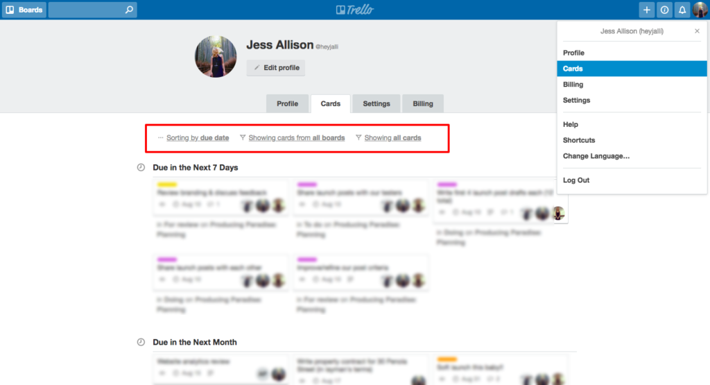 See all Trello cards assigned to you (from all boards)